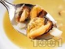 Рецепта Супа от миди и бяла риба с каротфи, целина, ряпа и пащърнак